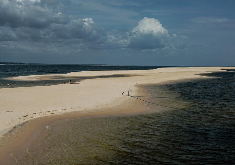 A Ponta Grande, no rio Arapiuns.
