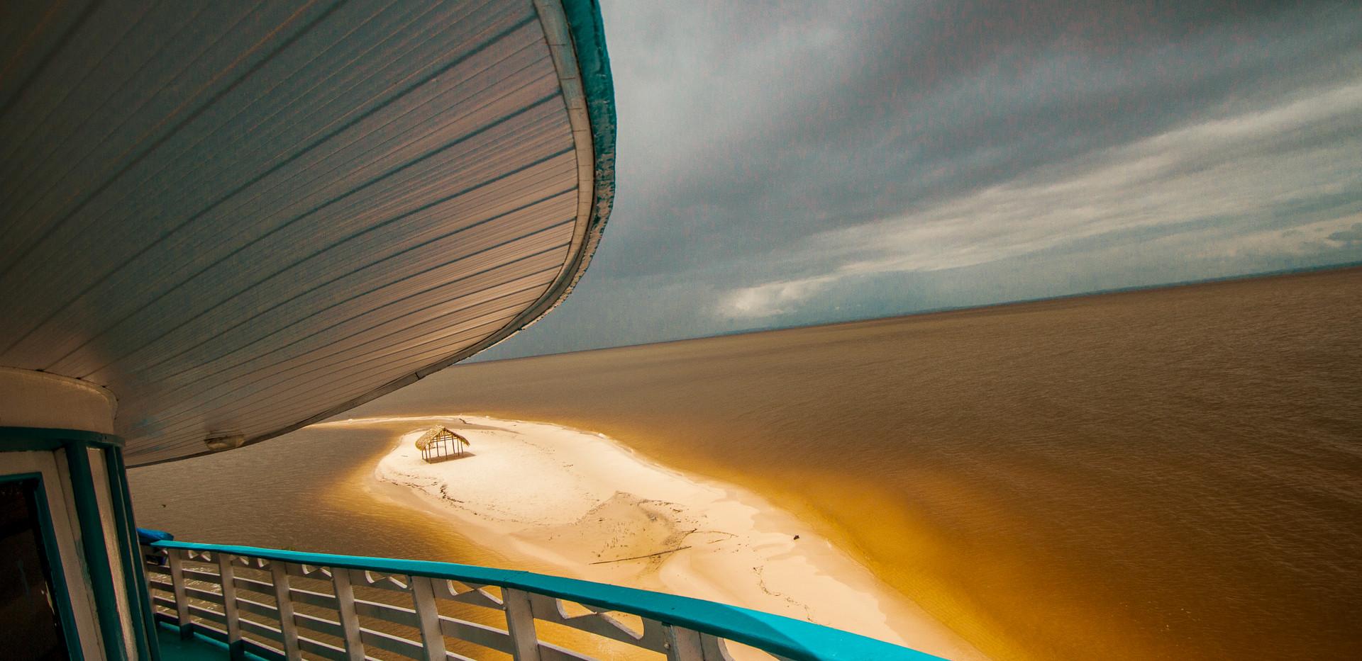 A ponta do Maguari. Foto de Guilherme Castoldi