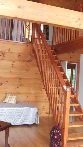 Escalier pour la chambre loft