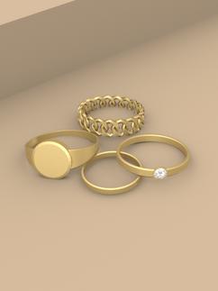 Monet Ring Set