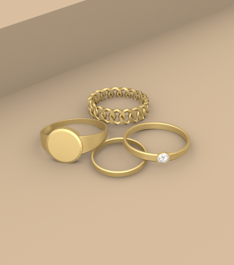 Monet Ring Set