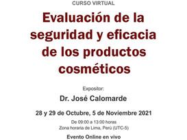 Evaluación de la seguridad y eficacia de los  cosméticos, en Perú