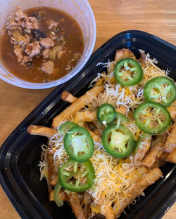 Mabo Chili Cheese Fries