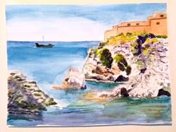 Watercolor - landscape