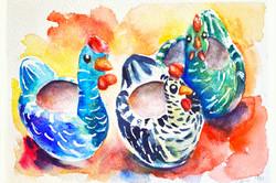 Watercolor stills