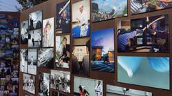 photo board collage