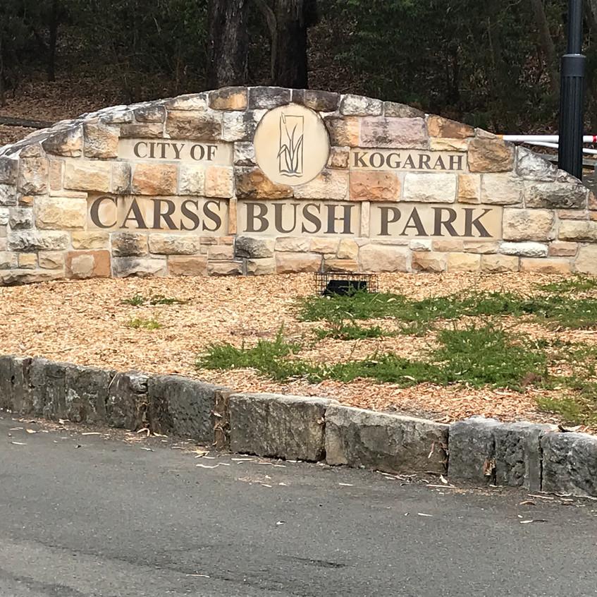 Carss Bush Park entrance
