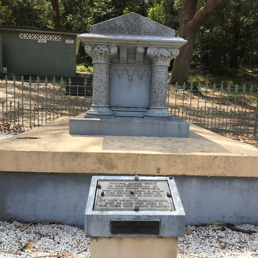 The Grave of William Carss