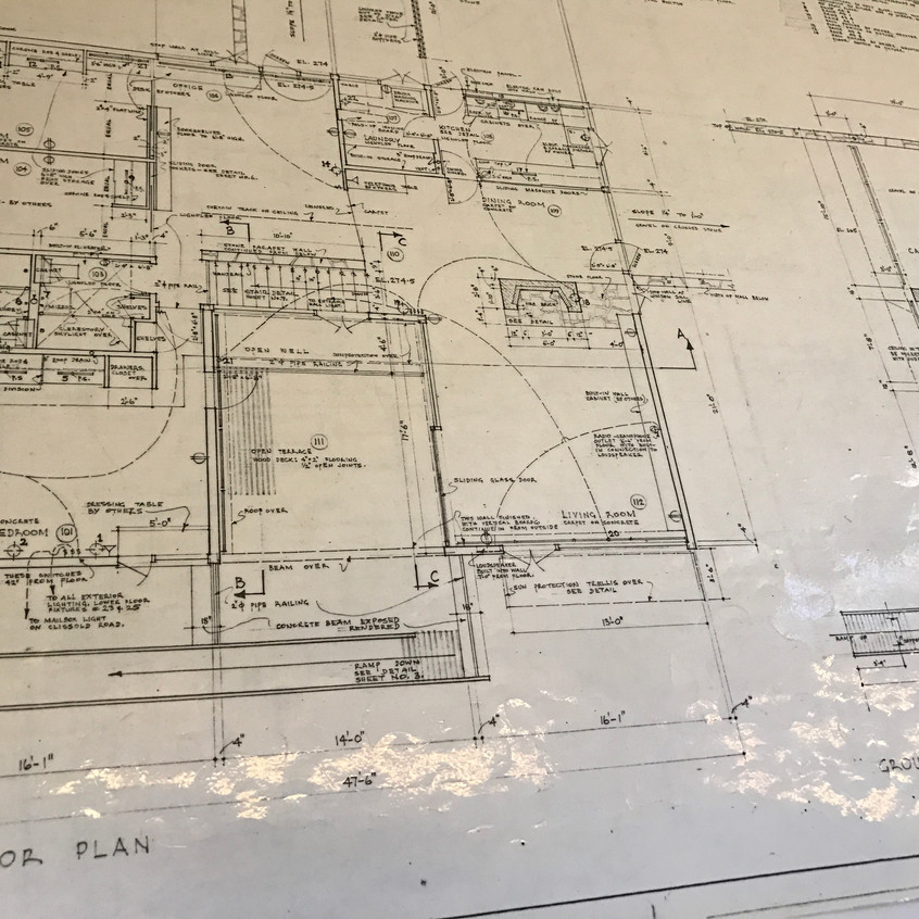 Plans of the house.