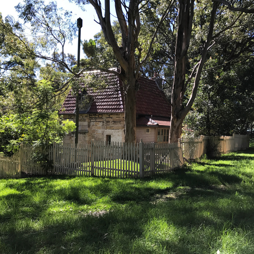 The old Gardeners Cottage