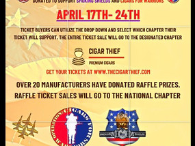 Tomorrow is the last day of the online cigar event. Buy your tickets and share with friends.