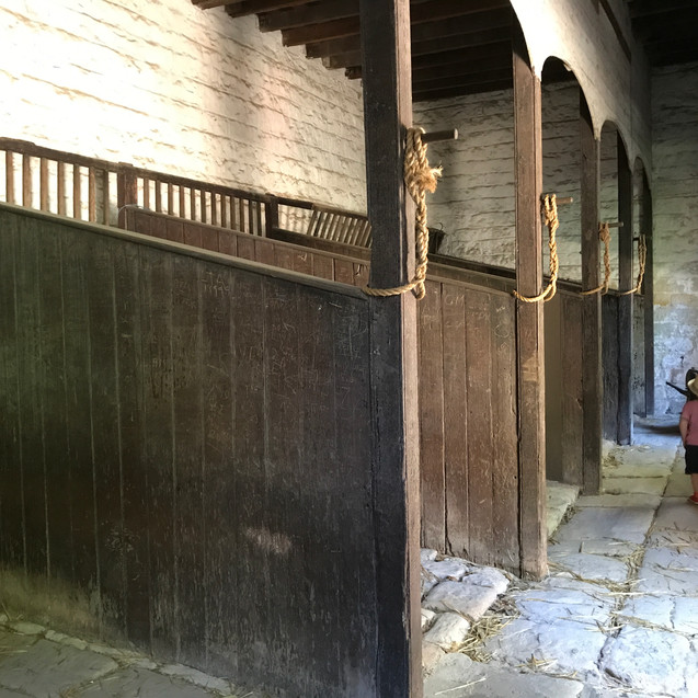 Inside the Stables