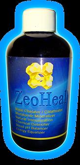 1- ZeoHeal 8oz. bottle