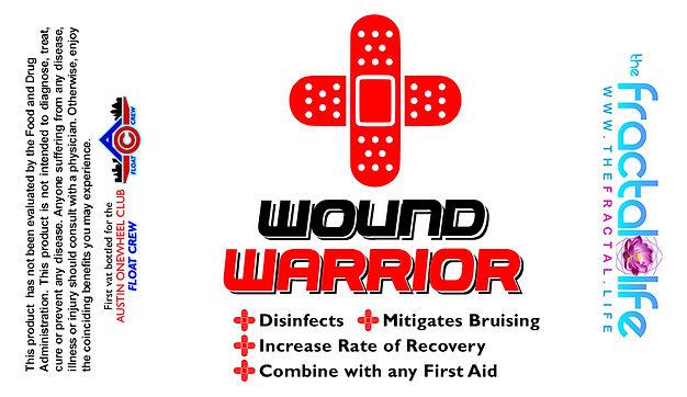 Wound Warrior label 2021