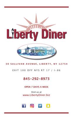 Liberty Diner Menu 2019-1