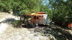 photos emplacement de camping