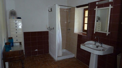 salle d' eau de la location