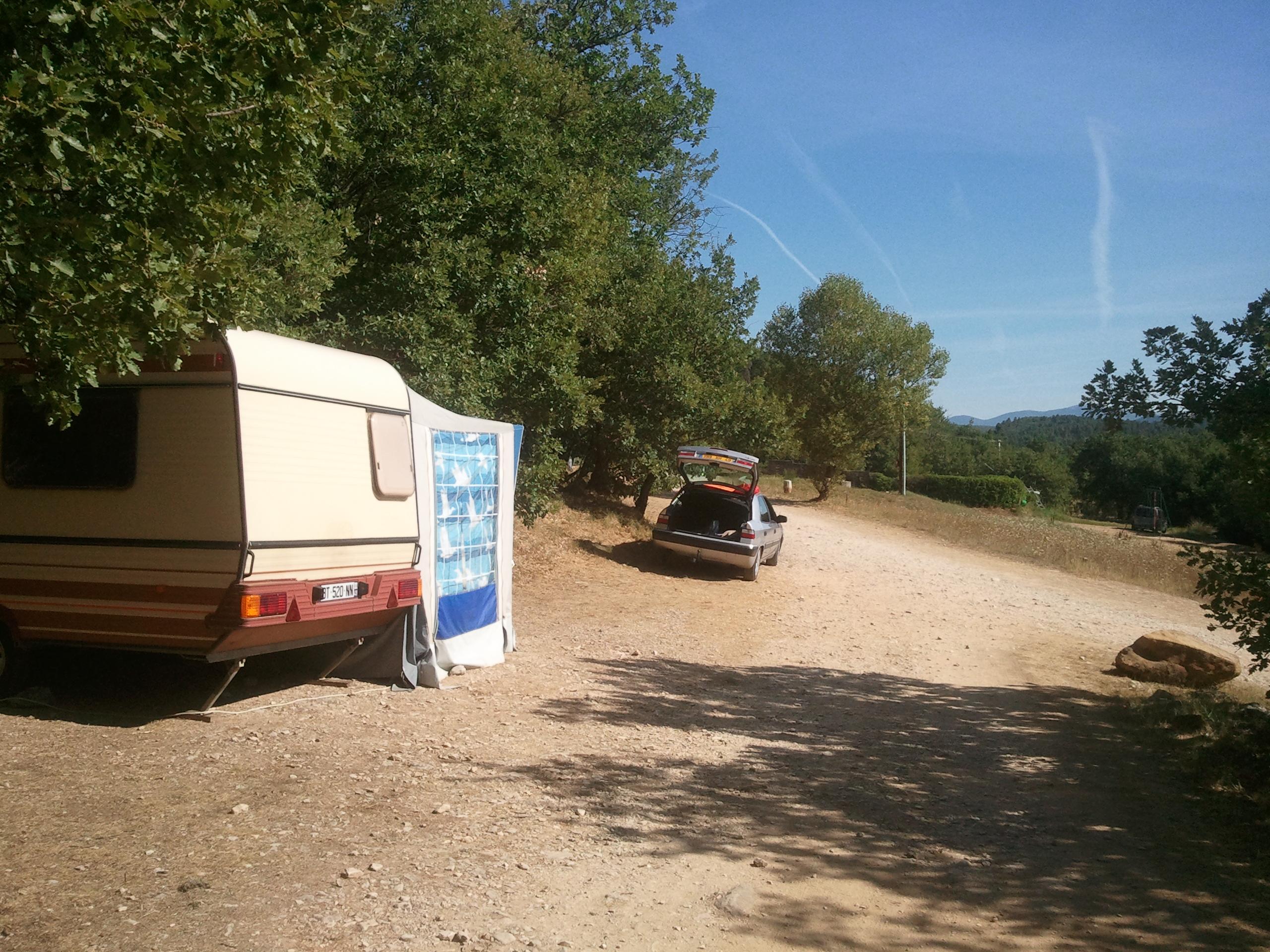 caravan pitch