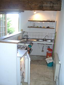 kitchenette de la location
