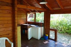 cuisine en terrasse couverte