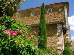 roseraie de l' abbaye de valsaintes