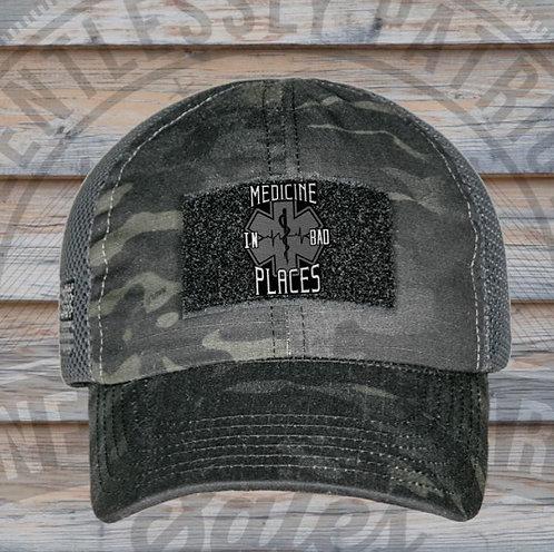 MIBP/Nine Line Tac Blk Multicam Hat