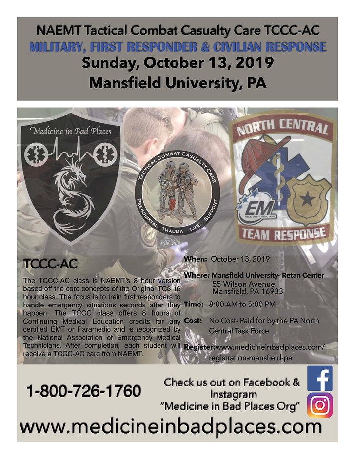 TCCC AC Flyer Mansfield PA October 13.jp