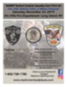TCCC AC Flyer - Dix Hills FD - November