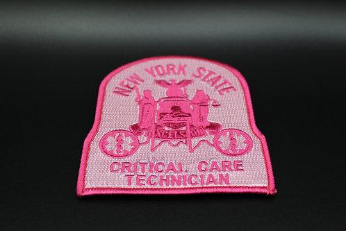 NYS EMT-CC Pink Patch