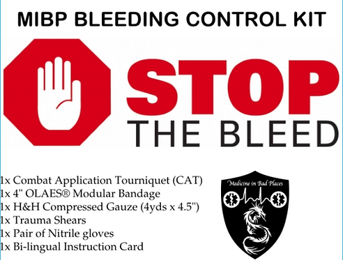 MIBP Bleeding Control Kit