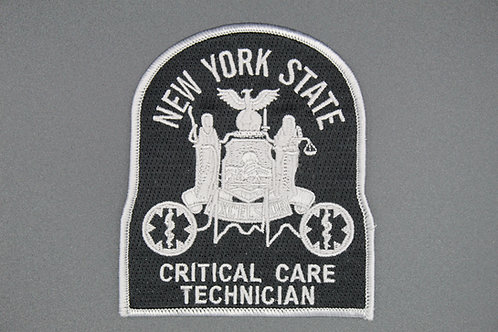NYS EMT-CC Patch