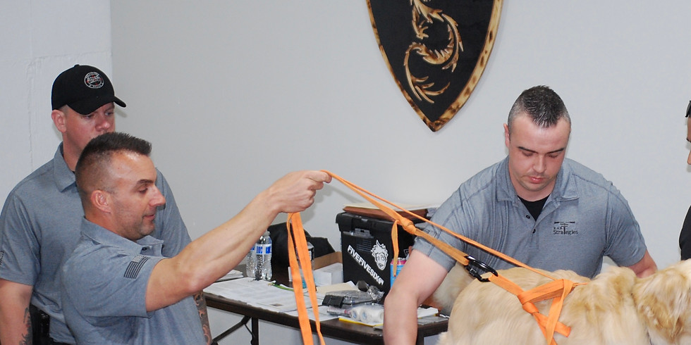 K9 Medical Operator Program 16-Hour Course by: R.A.N.T. STRATEGIES