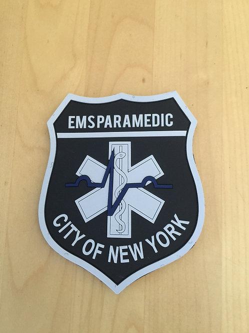NEW YORK CITY MEDIC PVC ( VECRO BACK )