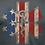 Thumbnail: Nine Line EMS Flag - Gray