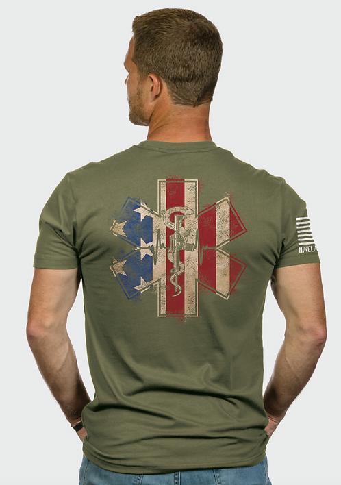 Nine Line EMS Flag - Ranger Green