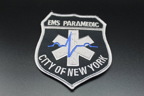 New York City Tactical Medic Patch (Velcro back)