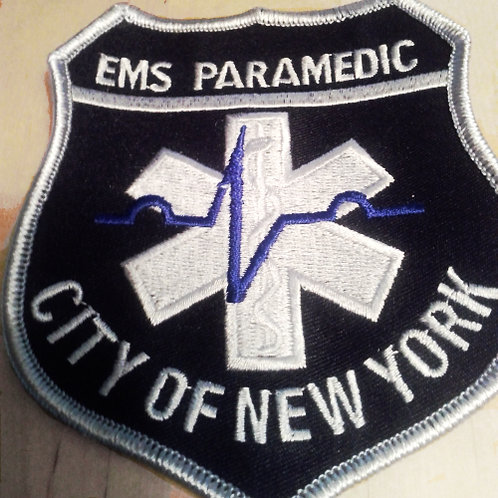 New York City Tactical Medic Patch (Sew On)