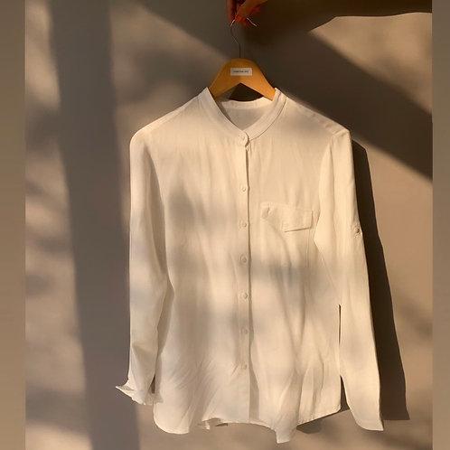 Camisa Basic viscose branca