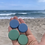 Thumbnail: Brinco botão resina