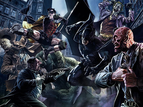All Star Batman #1 Exclusive Lee Bermejo Variant cover Color