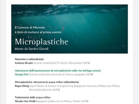 Morcote, appuntamento con le Microplastiche