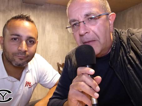 """Il Sergente Garcia su Video Ticino con le """"Interviste Curiosity"""""""