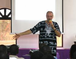 Benjamin teaching at WAAST IMG_9583