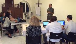 Dubai course-Ben teaching-class