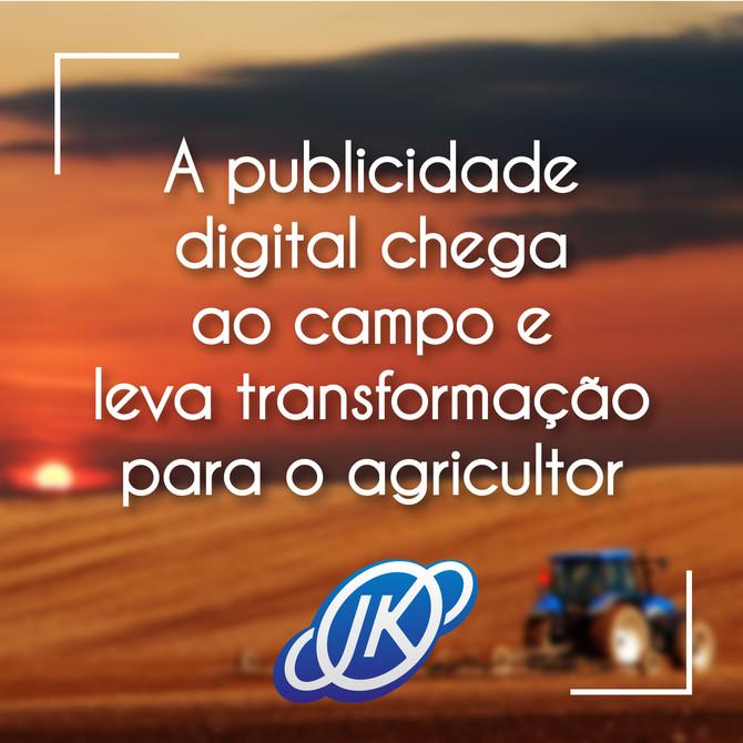 Como já acontece em outros setores, a agricultura também tem se beneficiado das evoluções tecnológic