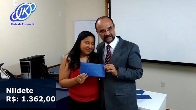 Ganhe R$ 140,00 por indicação de cada aluno. Inscreva-se: www.jkvestibular.com.br