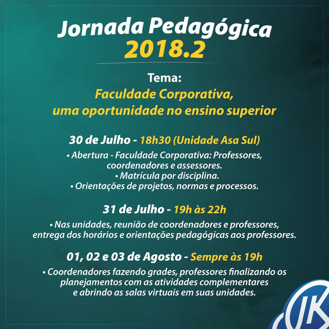 Jornada Pedagógica 2018.2