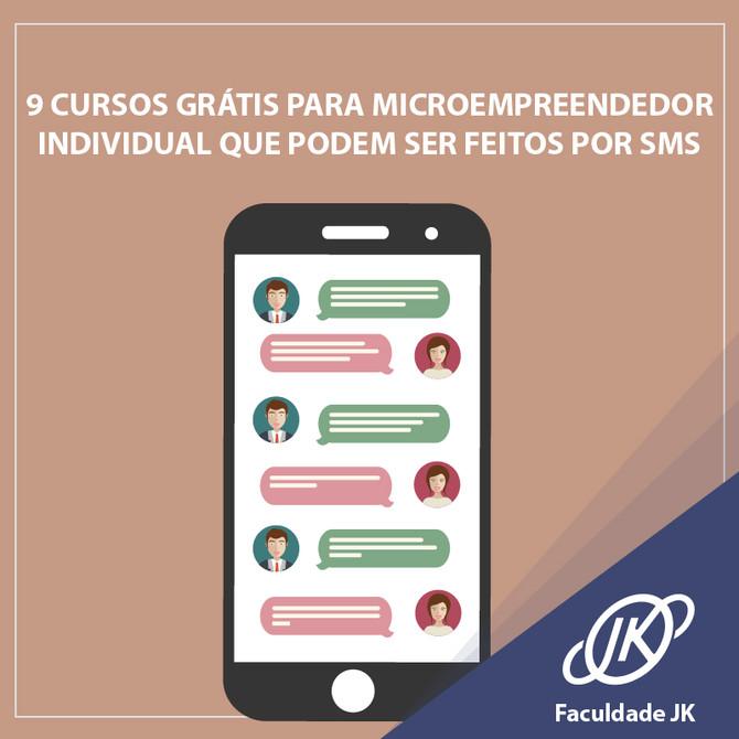 9 cursos grátis para Microempreendedor Individual que podem ser feitos por SMS.