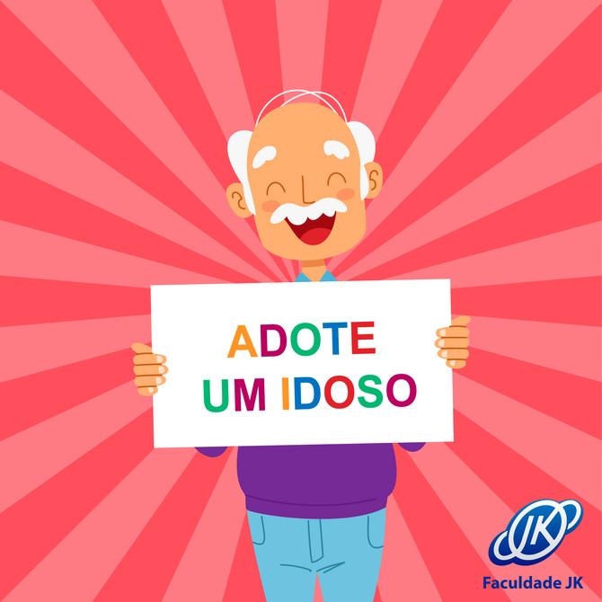 """Participe da campanha """"adote um idoso"""""""