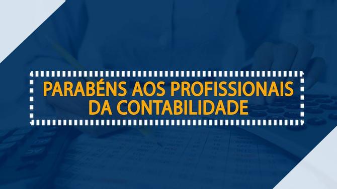 25 de abril - Parabéns aos profissionais da contabilidade.